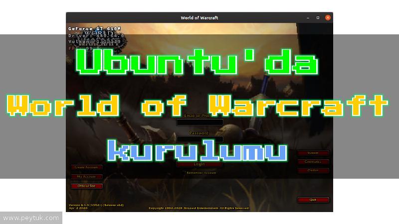 Ubuntu 19.10 Eoan Ermine – World of Warcraft nasıl kurulur?